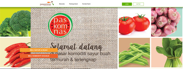 Paskomnas.com provides commodities for Indonesia market
