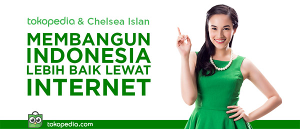 Chelsea Islan, Indonesian actress who became icon of Tokopedia, presenting millennials